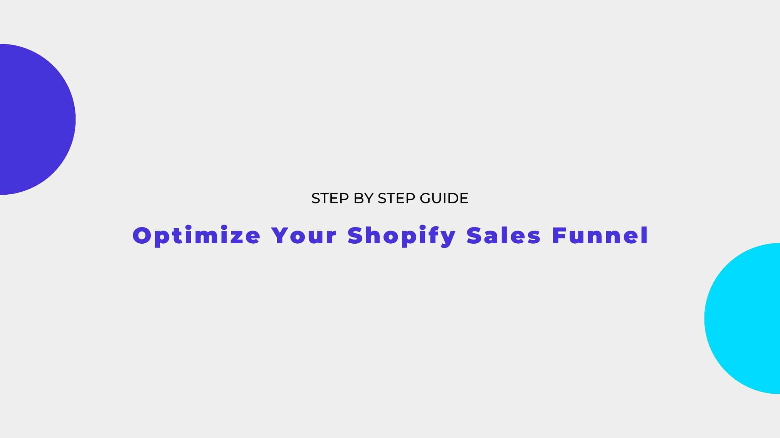 shopify sales funnel